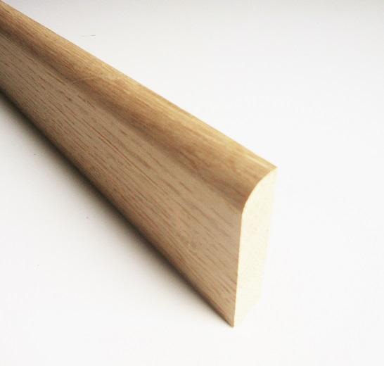 plinthe ch ne massif hauteur 7 cm pour bricoler malin 39. Black Bedroom Furniture Sets. Home Design Ideas