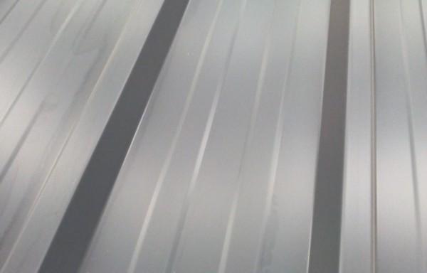 Bac acier gris longueur 3 m