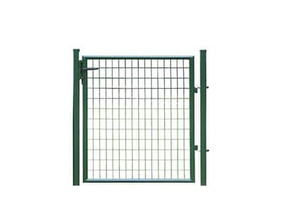 Portillon vert larg 1.25 m x h 1.25 m