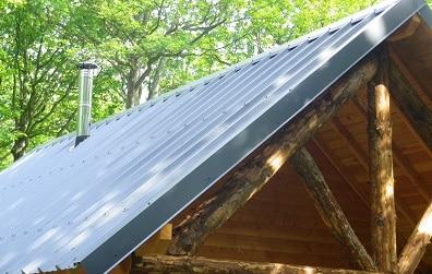 Tôle pour toiture et bardage en acier galvanisé