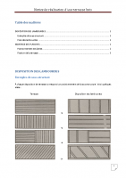 Notice réalisation terrasse